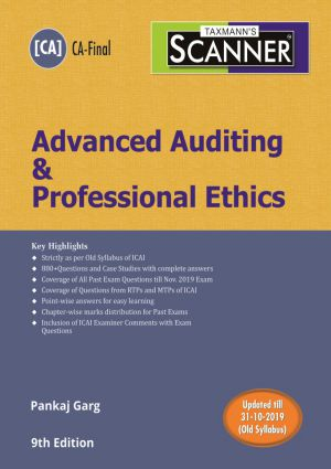 Altclasses CA Final - Advanced Auditing - Old Syllabus - Scanner book